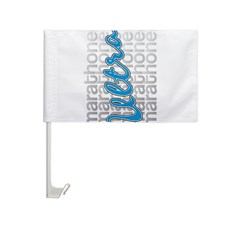 Ultra Marathoner Aluminum Car Flag