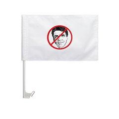 No Rick Perry! Car Flag