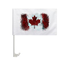 Canadian Graffiti Car Flag