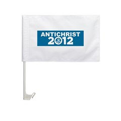 ANTICHRIST 2012 Car Flag