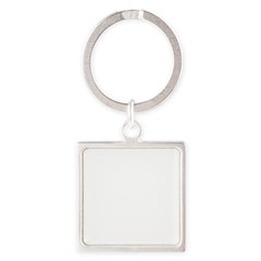 Norway (Flag, International) Square Keychain
