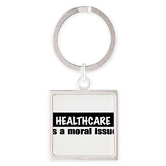Healthcare Square Keychain