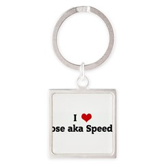 I Love Jose aka Speedy Square Keychain