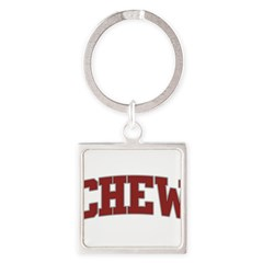 CHEW Design Square Keychain