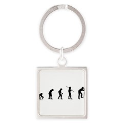 Photog Evolution Square Keychain