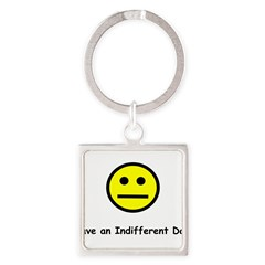 Have an Indifferent Day (Y) Square Keychain