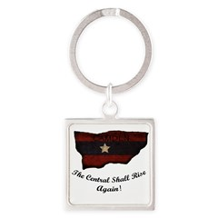 the Central Shall Rise Again Square Keychain