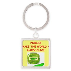 pickles Square Keychain