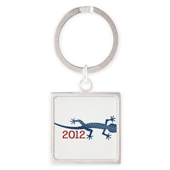 Newt 2012 Drawing Square Keychain