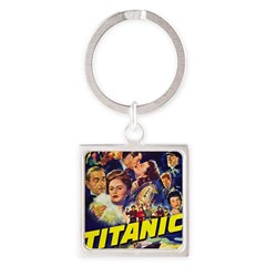 $9.99 Titanic Movie Square Keychain