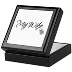 My Wife Tag -- Priceless Keepsake Box