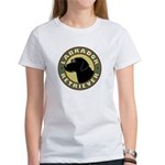 Black Lab Crest - Women's T-Shirt