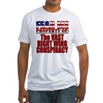 Property of Vast Right Wing Conspiracy Fitted T-Sh