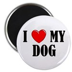 Love My Dog Magnet