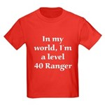 Level 40 Ranger Kids Dark T-Shirt