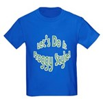 Do It Froggy Style Kids Dark T-Shirt