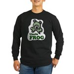 Uncle Frog's Pond Long Sleeve Black T-Shirt