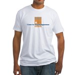 Backgammon Fitted T-Shirt