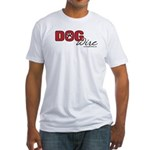 DogWire Logo Fitted T-Shirt