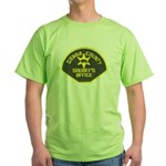 Sierra County Sheriff Green T-Shirt