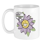 Happy Mother's Day Purple Flower Mug