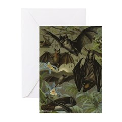 "JustVampires.com ""Bat Idyll"" Greeting Cards (6)"