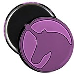 Purple Unicorn Magnet
