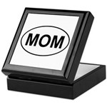 Mom European Oval Mother's Day Keepsake Box