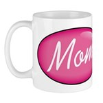 Pink Mom is my Idol Logo Mug