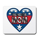 Heart Wonder Mom Mother's Mousepad
