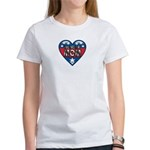 Heart Wonder Mom Mother's Women's T-Shirt