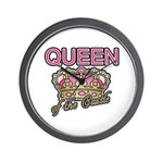 Queen of the Castle Crown Mother Wall Clock
