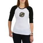 Mom Name Brand Apparel Logo Jr. Raglan