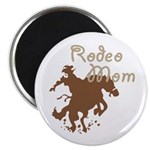 """Rodeo Mom Wester Cowboy Cowgirl 2.25"""" Magnet (10 p"""