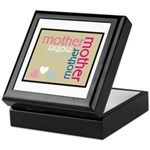 Mother Plaque with Hearts Mother's Keepsake Box