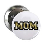"Golden Mom Name Gold Letters 2.25"" Button (10 pack"
