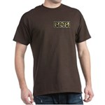 Golden Mom Name Gold Letters Dark T-Shirt
