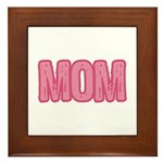Mom in Pink Mother's Day Framed Tile