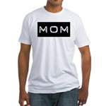 Dymo Black Label Me Mom Mother Fitted T-Shirt