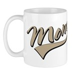 Baseball Swoosh Mom Mother's Mug