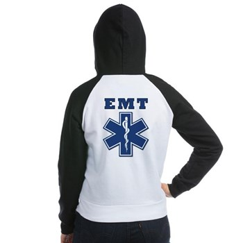 EMT Women's Raglan Hoodie