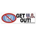 U.S Out of UN Bumper Sticker