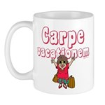 Carpe Vacationem f Mug