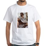 Ancient Greek Philosophy: Aristotle White T-Shirt