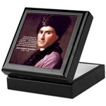 Jean Jacques Rousseau: Education Keepsake Box