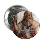"Plato Education: 2.25"" Button (10 pack)"