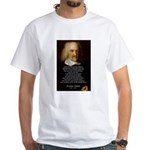 Thomas Hobbes: War White T-Shirt