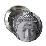 "Buddha Buddhism Quote Picture 2.25"" Button (10 pac"