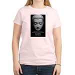 Buddhist Religion: Gift of Truth Women's Pink T-Sh