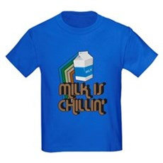 Milk is Chillin' Kids T-Shirt